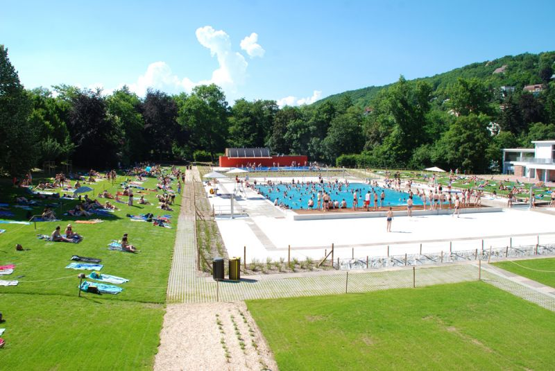 La piscine plein air obernai for Piscine obernai
