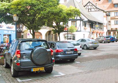 Парковки в Оберне