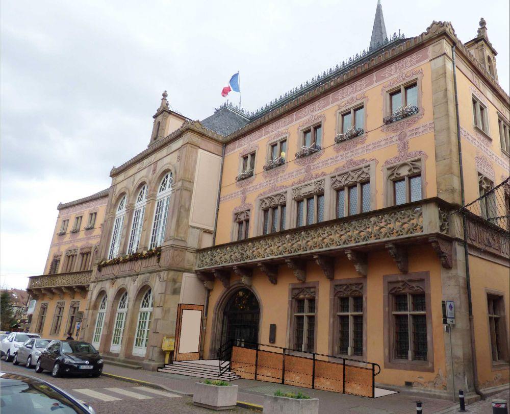 Hotel De Ville De La Mairie Du  Ef Bf Bdme